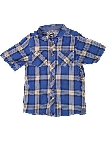 Chemise manches courtes garçon DUDES bleu 7 ans été #1315619_1