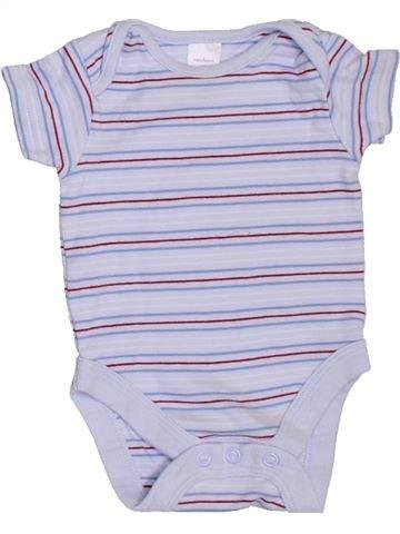 T-shirt manches courtes garçon NEXT gris naissance été #1316152_1