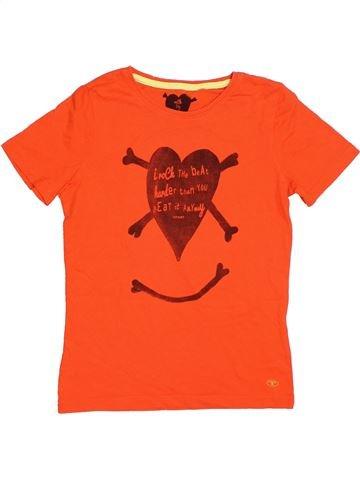 T-shirt manches courtes garçon TOM TAILOR rouge 12 ans été #1316328_1