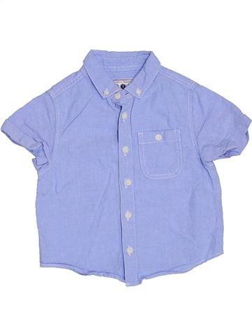 Camisa de manga corta niño BOYS violeta 3 años verano #1316334_1