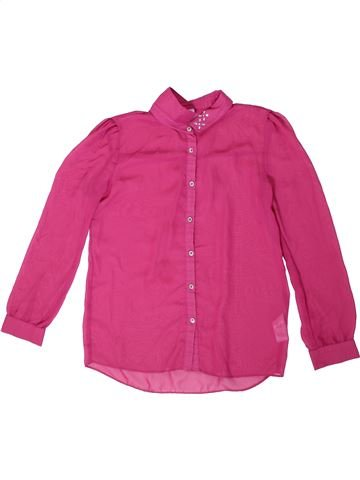 Blouse manches longues fille F&F rose 13 ans hiver #1317217_1