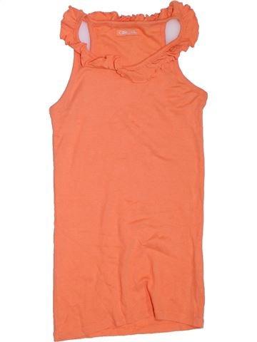 T-shirt sans manches fille CHEROKEE orange 13 ans été #1317852_1