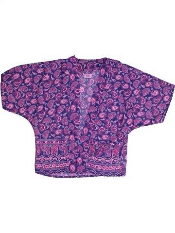 Gilet fille F&F violet 5 ans été #1318941_1