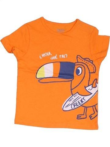 Camiseta de manga corta niño CREEKS naranja 2 años verano #1322717_1