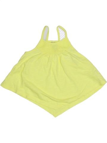 T-shirt sans manches fille ORCHESTRA jaune 4 ans été #1323112_1