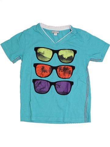 T-shirt manches courtes garçon ORCHESTRA bleu 8 ans été #1323376_1