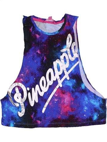 T-shirt sans manches fille PINEAPPLE violet 7 ans été #1323607_1