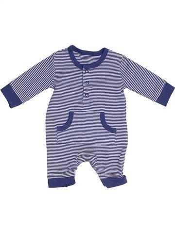Combinaison longue garçon GEORGE bleu naissance été #1323931_1