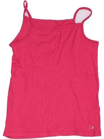 T-shirt sans manches fille ORCHESTRA rose 12 ans été #1324091_1