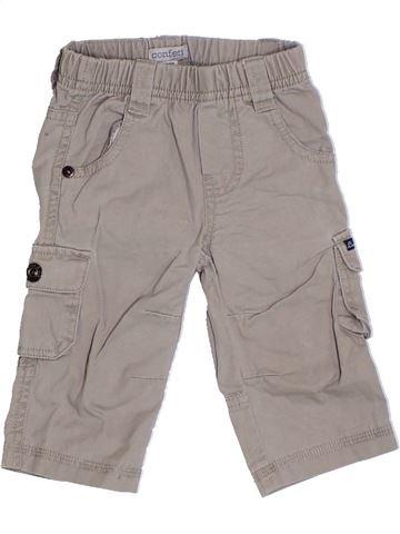 Pantalón niño CONFETTI gris 6 meses verano #1324181_1