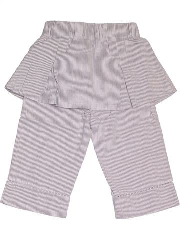 Pantalón niña TOUT COMPTE FAIT gris 6 meses verano #1324334_1