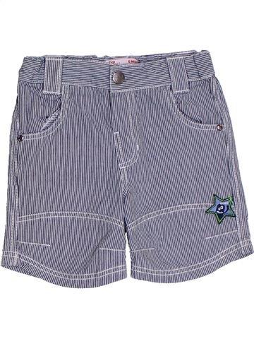 Short - Bermuda garçon DPAM bleu 6 mois été #1325516_1