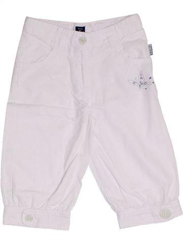 Pantalón corto niña TERRE DE MARINS blanco 5 años verano #1325807_1