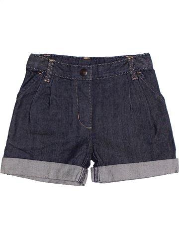 Short-Bermudas niña PETIT BATEAU azul 3 años verano #1326332_1