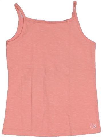T-shirt sans manches fille ORCHESTRA rose 6 ans été #1326402_1
