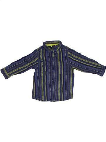 Chemise manches longues garçon ORCHESTRA gris 2 ans hiver #1326463_1