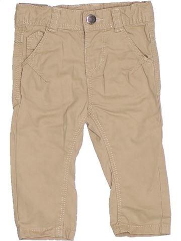 Pantalon fille TAPE À L'OEIL beige 3 mois été #1326514_1