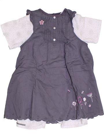 Combinación corta niña LES BEBES SONT COMME ÇA violeta 12 meses verano #1326549_1
