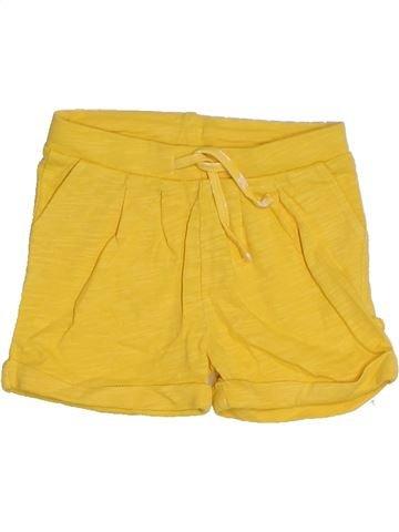 Short - Bermuda fille OKAIDI jaune 6 mois été #1326606_1
