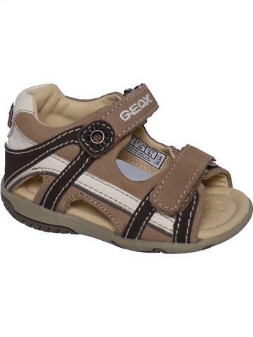 Sandalias niño GEOX marrón 20 verano #1326830_1