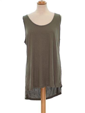 Camiseta sin mangas mujer PAPAYA 46 (XL - T3) verano #1327403_1