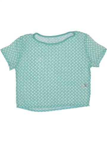 Blusa de manga corta niña DUNNES STORES azul 10 años verano #1327555_1