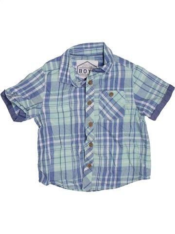 Chemise manches courtes garçon BOYS bleu 3 ans été #1327831_1