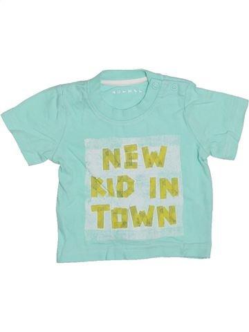 T-shirt manches courtes garçon NUTMEG bleu naissance été #1327878_1