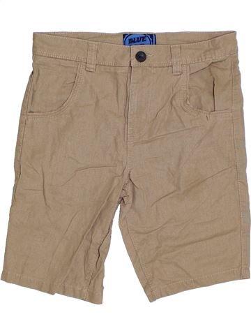 Short-Bermudas niño BLUEZOO beige 9 años verano #1328722_1