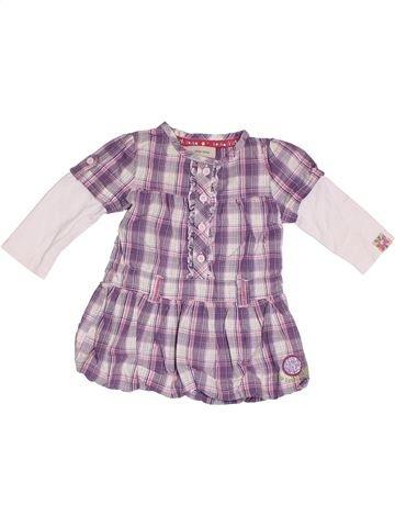 Robe fille ROCHA LITTLE ROCHA violet 6 mois été #1329247_1