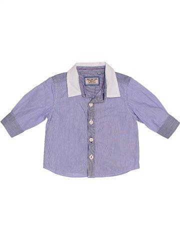 Chemise manches longues garçon NEXT violet 6 mois hiver #1329838_1