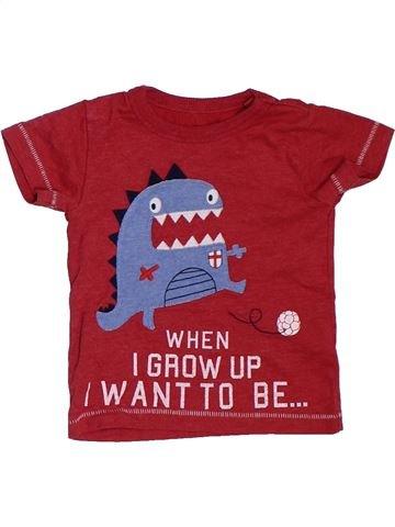 T-shirt manches courtes garçon NEXT rouge 6 mois été #1329887_1