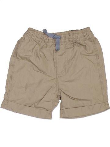 Short - Bermuda garçon GEORGE beige 6 mois été #1329897_1