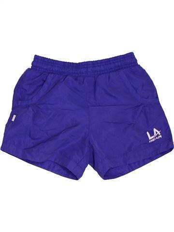 Short de sport fille LA GEAR violet 8 ans été #1330058_1