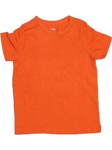 T-shirt manches courtes garçon HEMA orange 3 ans été #1330190_1