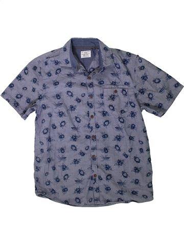 Chemise manches courtes garçon NEXT bleu 11 ans été #1330353_1