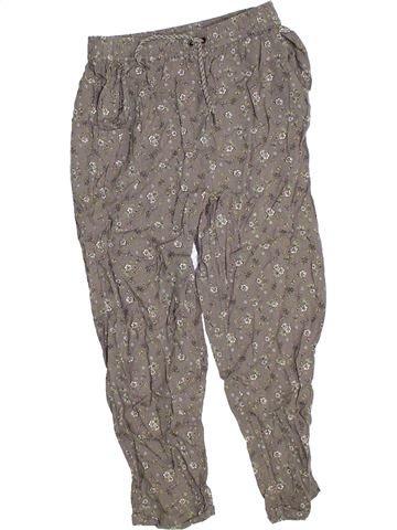 Pantalon fille GEORGE gris 9 ans été #1330475_1