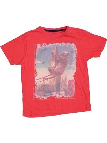 T-shirt manches courtes garçon DEBENHAMS rouge 8 ans été #1330513_1