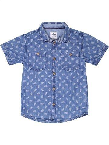 Chemise manches courtes garçon PRIMARK bleu 7 ans été #1330870_1