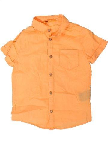 Chemise manches courtes garçon H&M orange 3 ans été #1330898_1