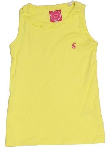 T-shirt sans manches fille JOULES jaune 5 ans été #1330925_1
