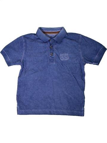 Polo manches courtes garçon MATALAN bleu 3 ans été #1330931_1