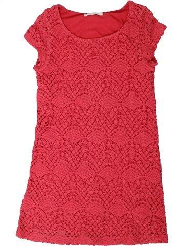 Robe fille H&M rose 10 ans hiver #1331109_1
