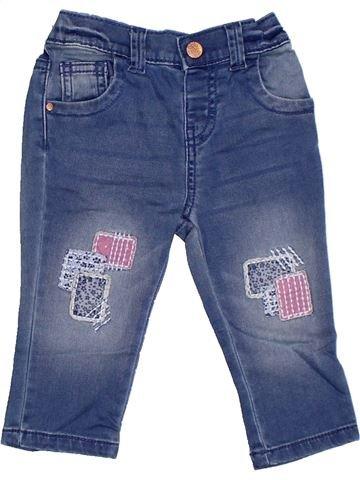 Pantalon fille F&F bleu 6 mois été #1331128_1