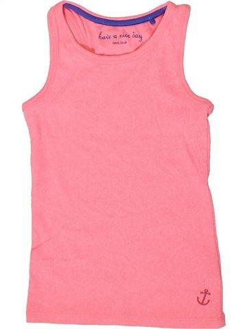 T-shirt sans manches fille NEXT rose 6 ans été #1331259_1