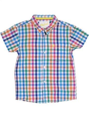 Chemise manches courtes garçon PRIMARK blanc 6 ans été #1331318_1
