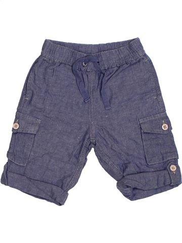 Short - Bermuda garçon THE LITTLE WHITE COMPANY bleu 6 mois été #1331359_1
