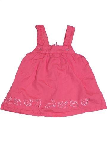 Vestido niña BRIOCHE rosa 3 meses verano #1331511_1