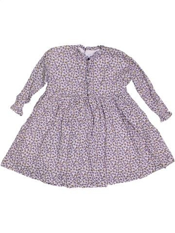 Robe fille BOUT'CHOU gris 3 ans hiver #1331536_1