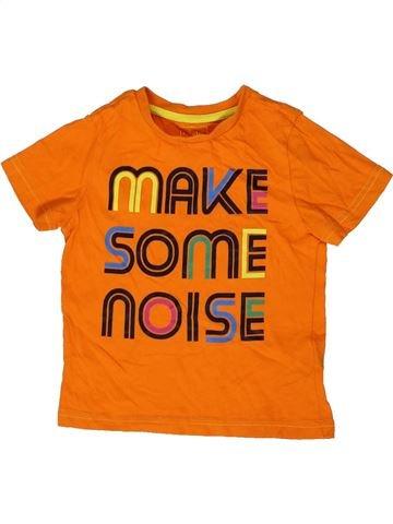T-shirt manches courtes garçon F&F orange 3 ans été #1331628_1